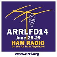 ARRL Field Day 2014, June 28-29