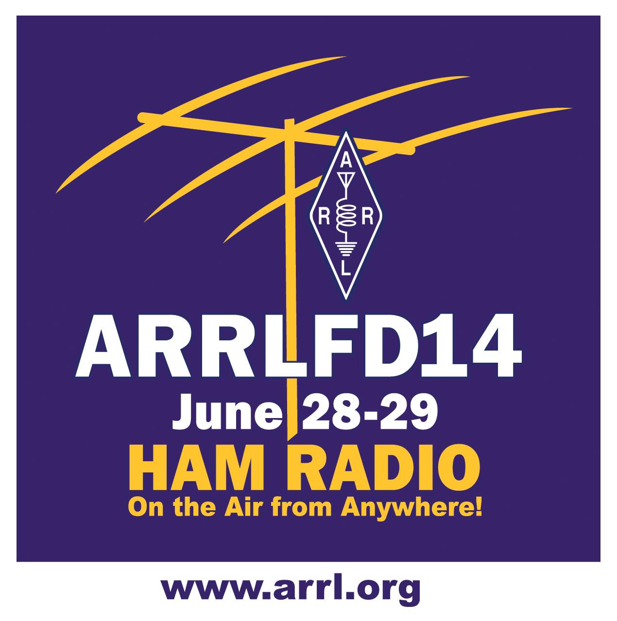 ARRL Field Day 2014, June 28-29
